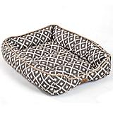 SnooZZy IKAT Ease Gray Drawer Dog Bed