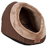 SnooZZy Rustic Elegance Brown Hide N Seek Dog Bed