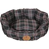 Pet Life Water Resistant Round Olive Dog Bed