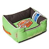 Touchdog Vintage Mint Green Bolster Dog Bed