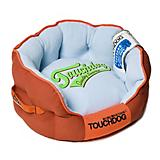 Touchdog Castle Bark Premium Red/Blue Dog Bed