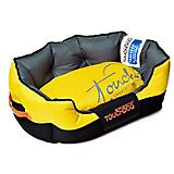 Touchdog Sporty Comfort Yellow/Black Dog Bed