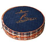 Touchdog Bark Royale Royal Blue Fleece Dog Bed