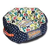 Touchdog Butterfly Pattern Designer Dog Bed