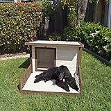 New Age Pet ecoFlex Santa Fe Brown Dog Chalet