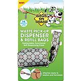 Bags on Board Diamond Print Waste Bag Dispenser