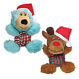 Kong Holiday Weave Knot Medium Dog Toy