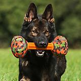MajorDog Barbell Fetch Dog Toy