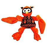Hugglehounds Knotties Halloween Owl Small Dog Toy