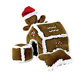 Outward Hound Hide A Toy Gingerbread House Dog Toy