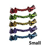 Multipet Nuts for Knots Knotted Rope Dog Toy
