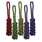 Nuts for Knots Tug with Braided Stick Rope Dog Toy