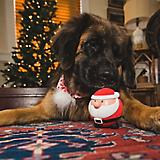 Hugglehounds Ruff Tex Santa Dog Toy
