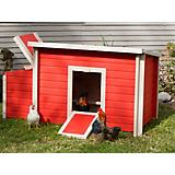 New Age Pet Urban Farm Red Fontana Chicken Barn