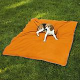 Insect Shield IE Orange Dog Blanket