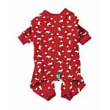 Petrageous Red Polar Bear Dog Pajamas