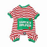 Petrageous Santas Helper Dog Pajamas