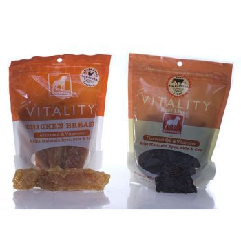 DogsWell Vitality Jerky Treats 5oz Chicken