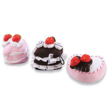 Doozie Dog Soft Sweets Plush Chocolate Mousse
