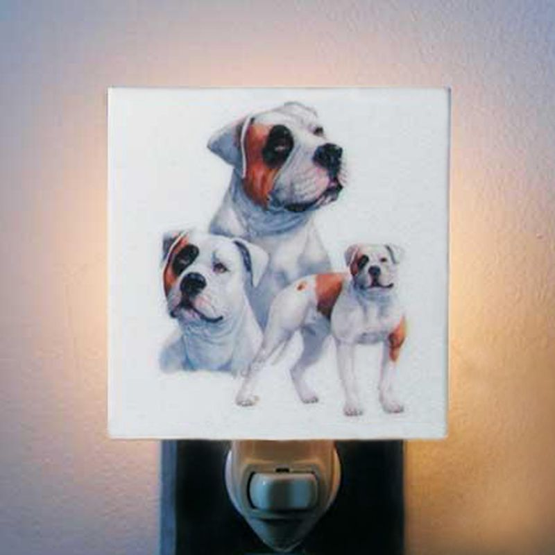 Breed Night Light American Bulldog