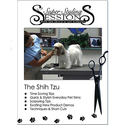 shih tzu hairstyles. DVD Video Shih Tzu