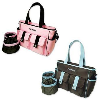 Designer Travel Bag Set 16 X 11 1 2 6 Brown Teal