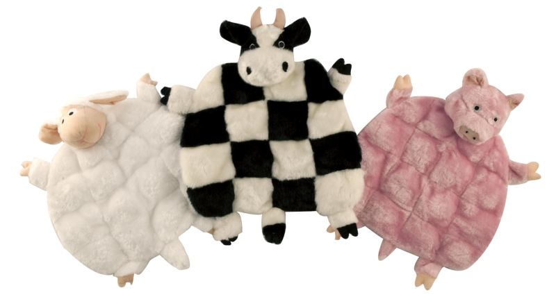squeaker mania plush dog toy sheep best price