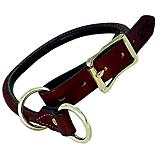 Mendota Leather Training Dog Collar