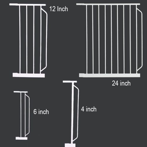 Extra Wide Gate Extension 6Inch