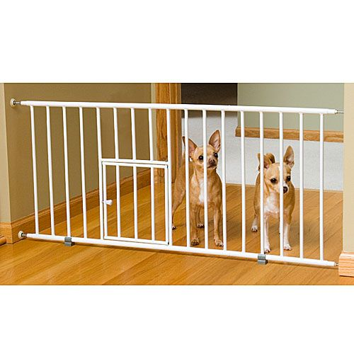 Mini Gate w/ Pet Door