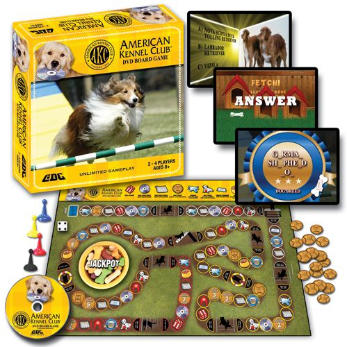 AKC DVD Board Game