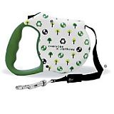 Avant Garde Retractable Leash Greenday