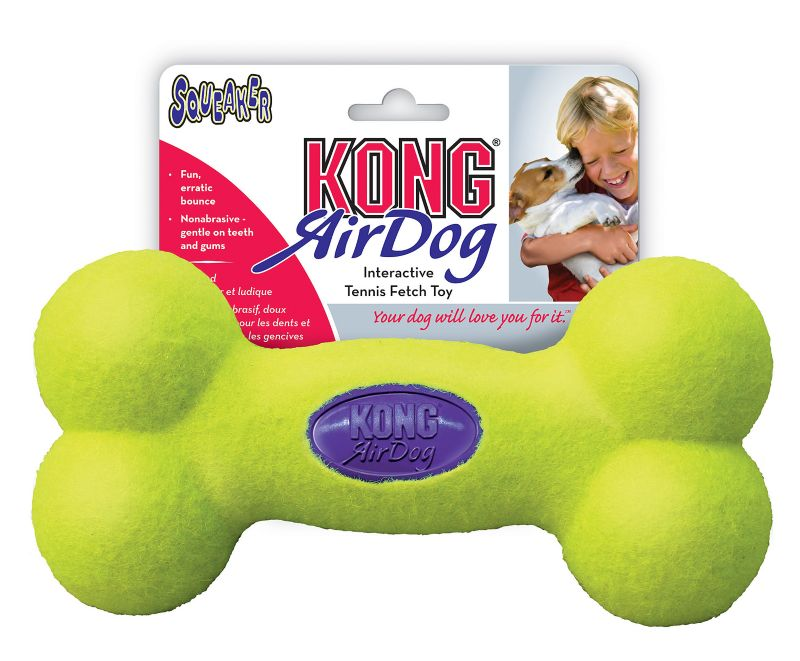 Air Kong Squeaker Bone Dog Toy Large