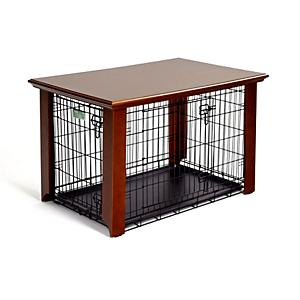 Plans http://www.petsupplies.com/item/midwest-wooden-dog-crate-table