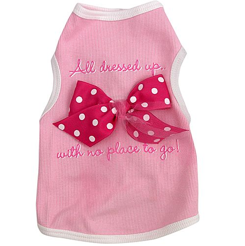 All Dressed Up Dog Tank Top XSmall
