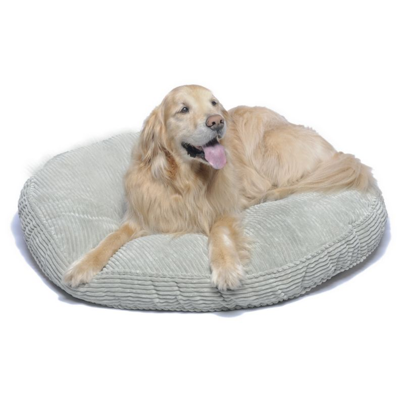 Corduroy Round About Dog Bed 35In Loden