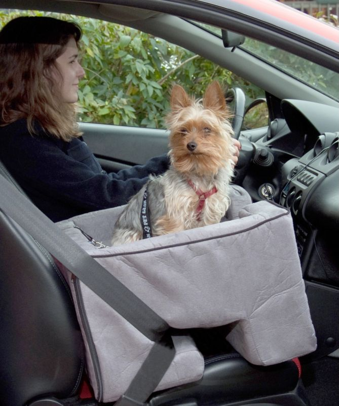 Pet Gear Booster Pet Car Seat Medium Charcoal