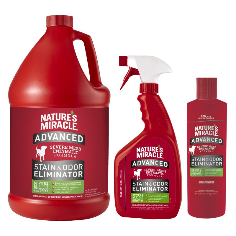 Nature's Miracle Advanced Stain&Odor Remover 24Oz