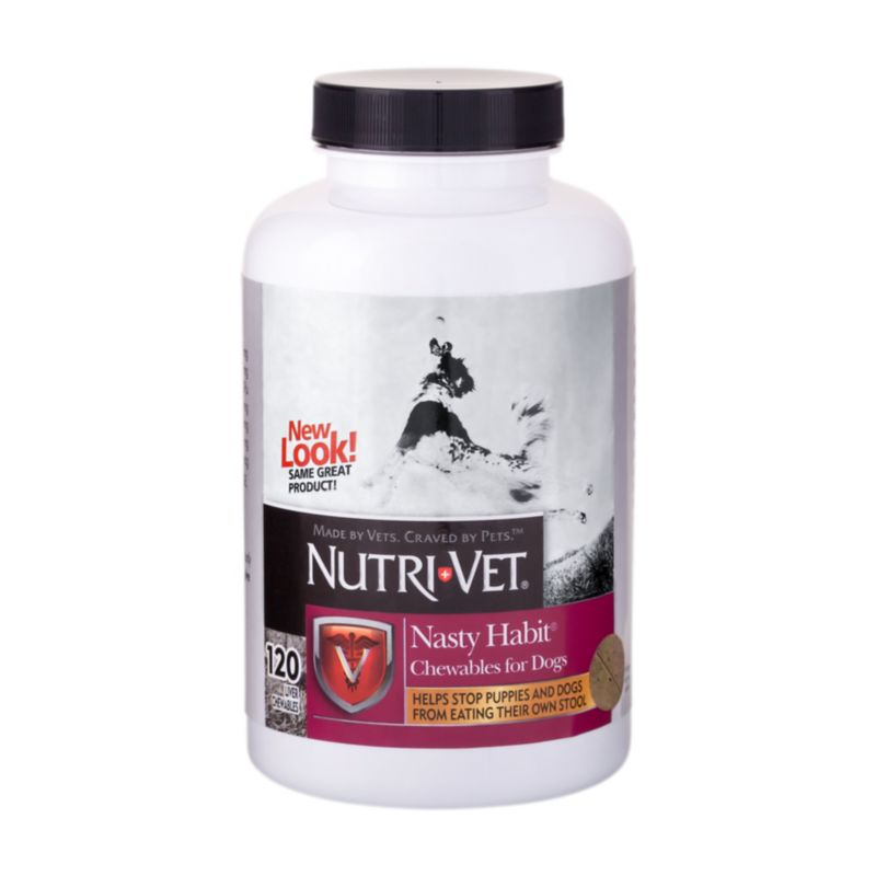 Nutri-Vet Nasty Habits Chewable 120ct