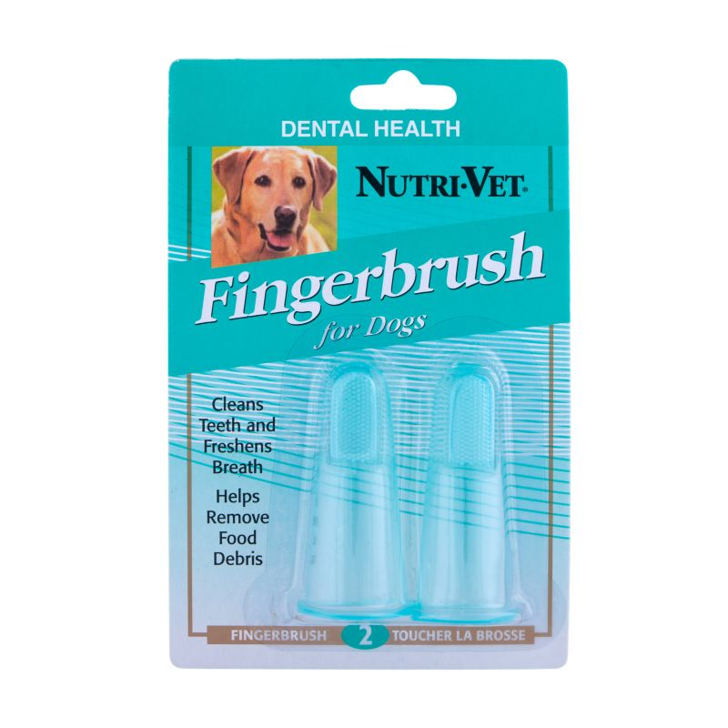 Nutri-Vet Pet Dental Fingerbrush Kit