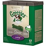 Greenies Senior Dog Treats Large
