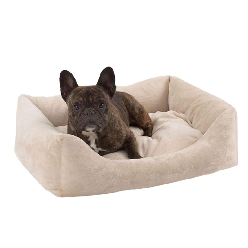 Pet Dreams Eco Bolster Dog Bed Large Ivory