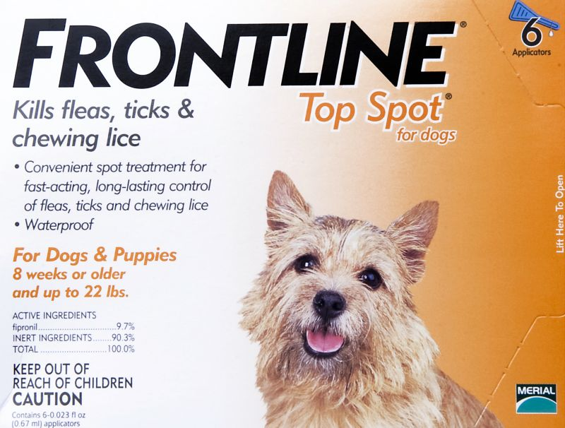 Frontline for Dogs 12 Month Supply Up to 22 lbs