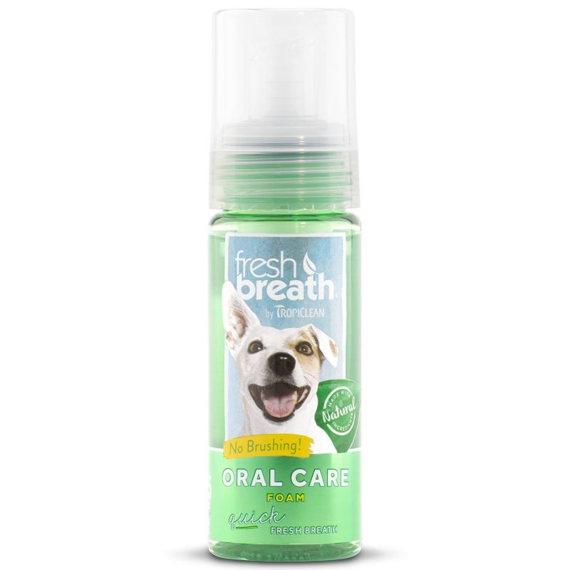 Tropiclean Fresh Breath Foaming Breath Fresher