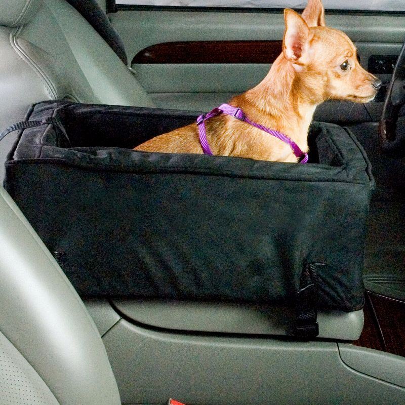 Luxury Console Pet Car Seat Small Leaf/Lt Cam Best Price