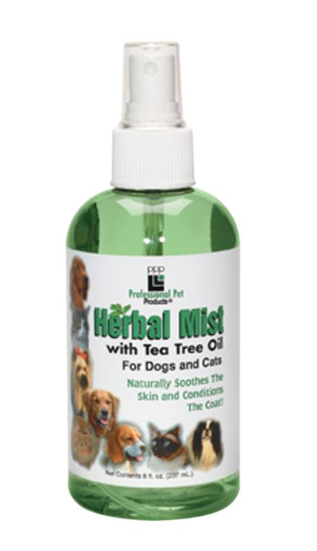 Herbal Mist Spray with Tea Tree Oil for Dogs