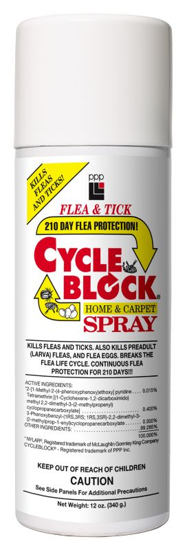 PPP Cycleblock Home & Carpet Spray with IGR