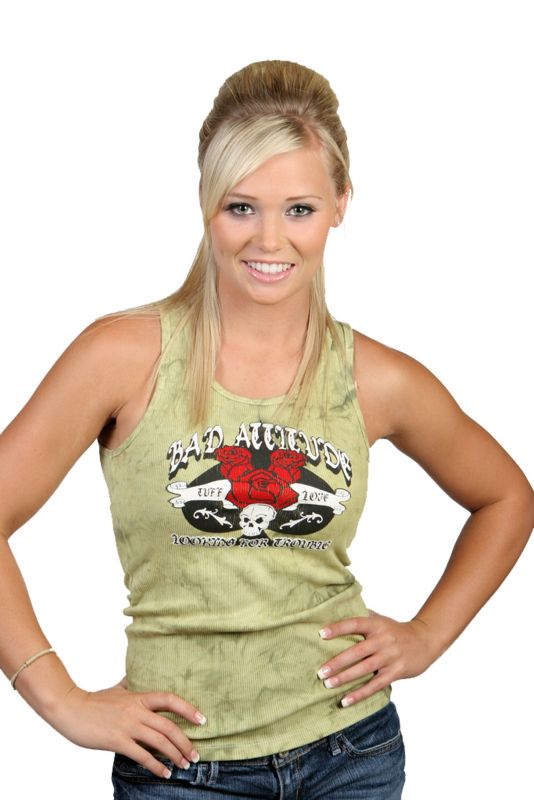 Bad Attitude Womens Tank Top Large