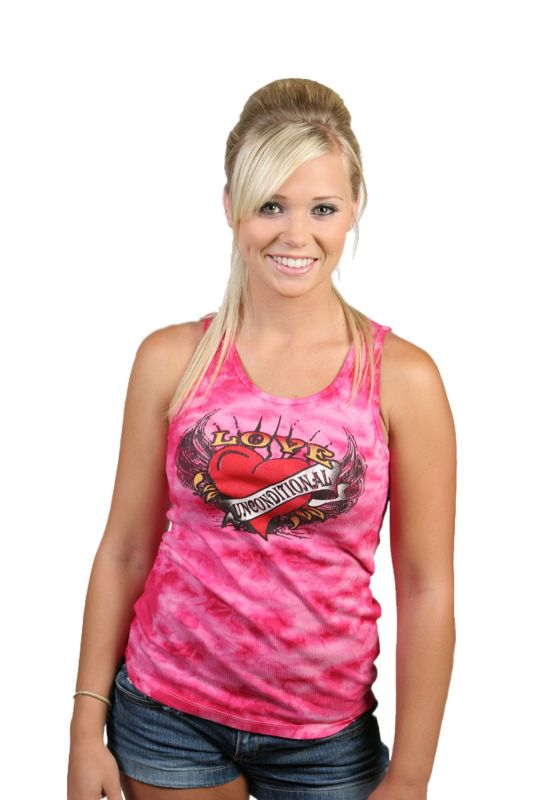 Unconditional Love Womens Tank Top Small