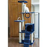 71 Inch Blue and White Cat Jungle Gym